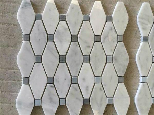 Carrara White Marble Hexagon​ Mosaic