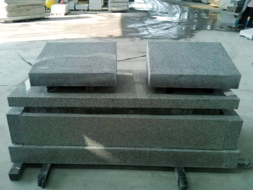 G603 Granite Tombstone, Grey Granite Mounments